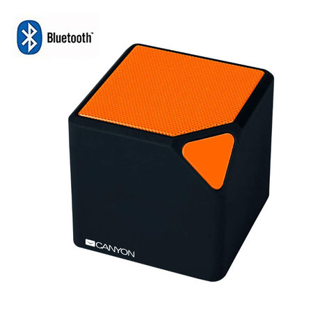 Мини BLUETOOTH MP3 Колонка CANYON-CNE-Orange