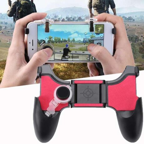 "Универсален Геймпад - 5 в 1 Mobile Game Pad 5"" - 6.5"""