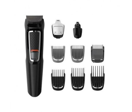 "Philips Тример MULTIGROOM ""9 в 1"", лице и коса series 3000"