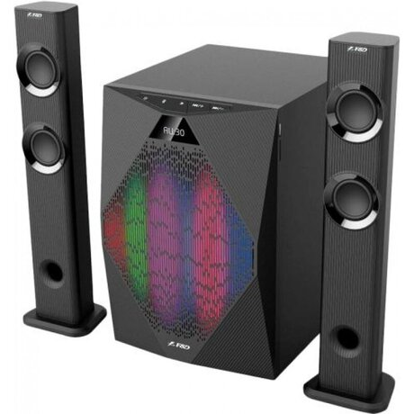 АУДИО КОЛОНИ FENDA T-300X, 2.1 TV SPEAKERS, BLUETOOTH, 70W, ЧЕРНИ